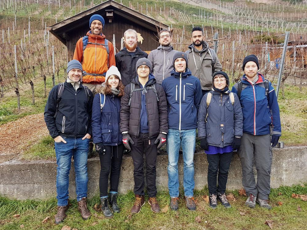BSD Lab Members Christmas Hike 2018